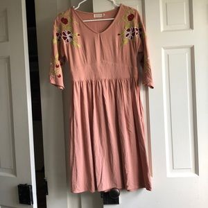 Roolee Embroidered Dress